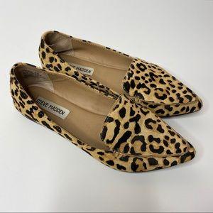 Steve Madden | Leopard Print (FeatherL) Flats 6.5
